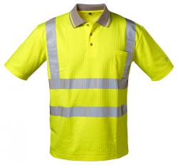 "Varselpikétröja ""TITUS"" - färg fluorescerande gul - storlekarna S-XXXL"