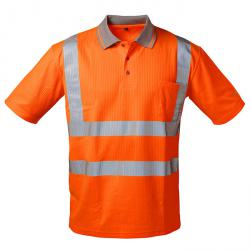 "Varselpikétröja ""MATEO"" - fluorescerande orange färg - storlekarna S-XXXL"