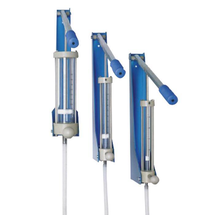 Dubbel Flüssigkeitsdosiergerät METROCAT - innehåll 25-500 ml - för aggressiva vätskor