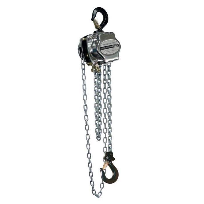 """Stirnradflaschenzug """"PREMIUM PRO"""" - Tragfähigkeit 0,25-30 t - Standardhub 3 m - Arbeitslänge 2,5 m"""