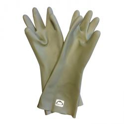 Jet gloves - latex - material thickness 0.7 mm - length 395 mm - size 10 - manhole Ø approx. 130 mm