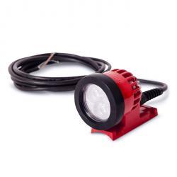 """Lampe projecteur """"ABL"""" - env. 800 Lumen - 12 V DC - câble de 1,5 m"""