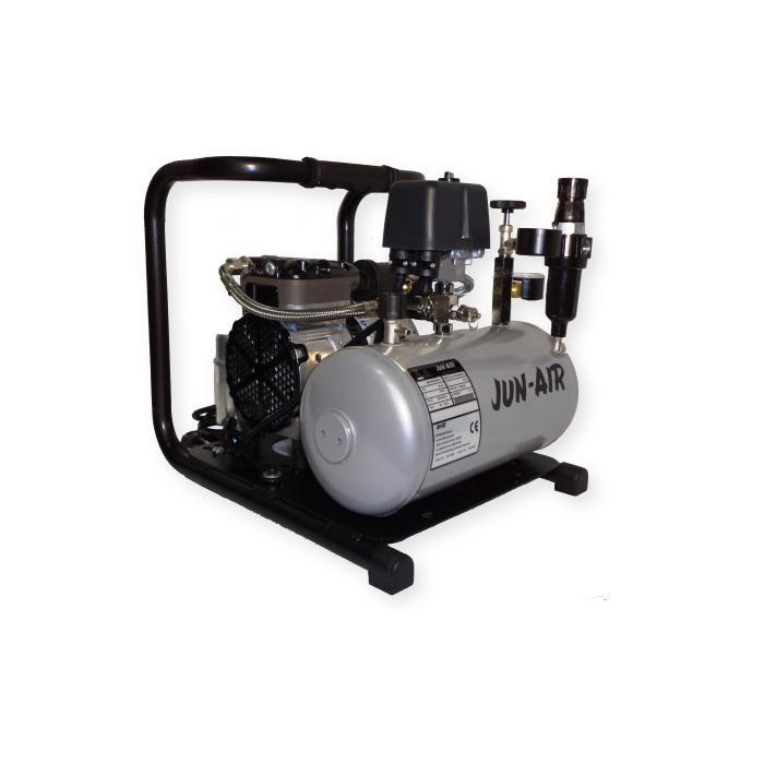 "Deux cylindres Pendelhubkompressor ""Modèle 87R"" - sans huile - 28 l / min à 8 bar"
