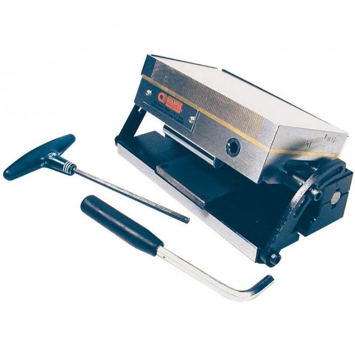 Sine magnetisk festeplate - Styrke 80 N / cm² - vinkeljustering fra 0 til 45 °