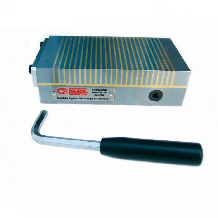Magnetic chuck - rektangulær - med standard eller fine pol