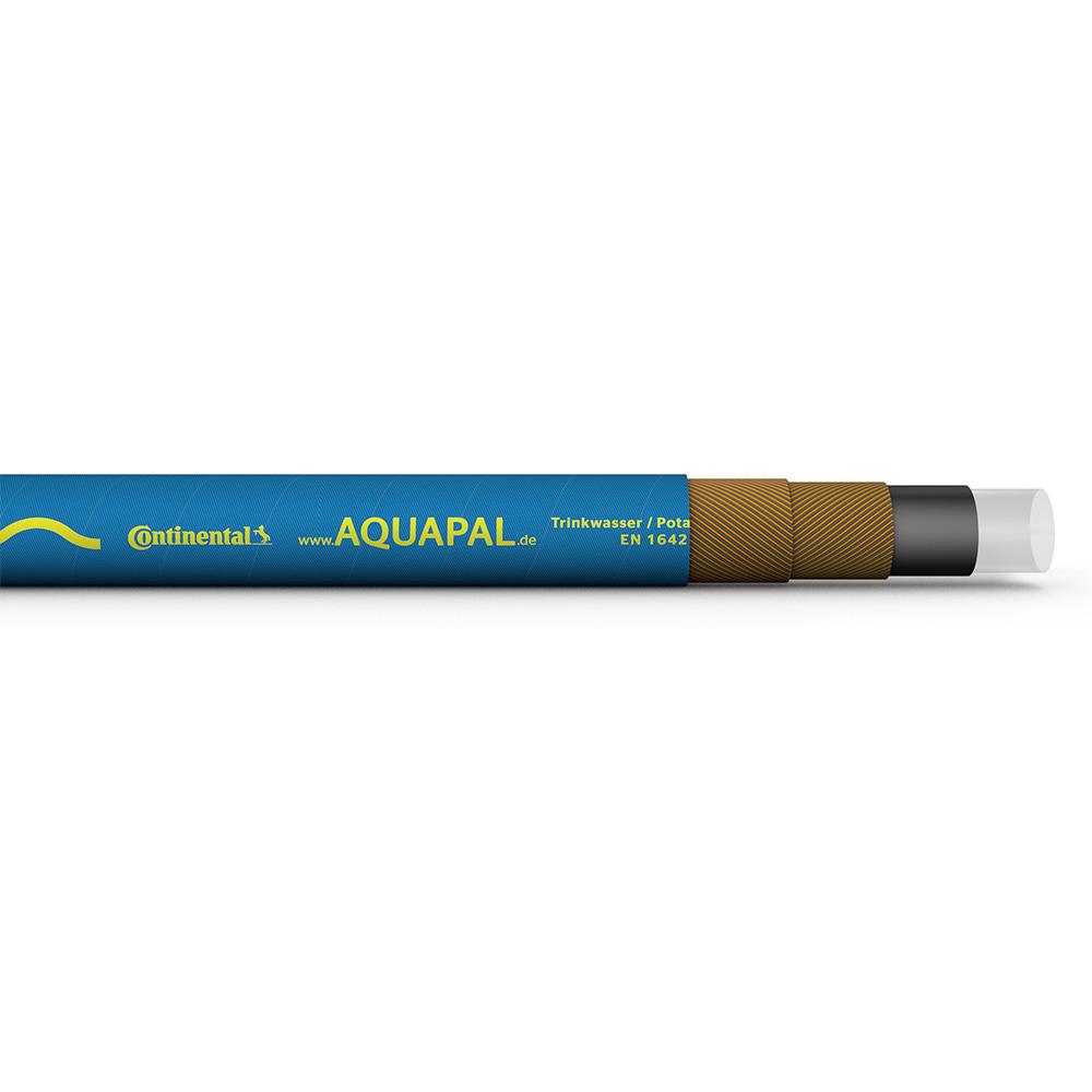 Trinkwasserschlauch AQUAPAL - Hochflexibel - FDA - Innen-Ø 4 bis 50 mm - Außen-Ø 14 bis 65 mm - Preis per Rolle und Meter