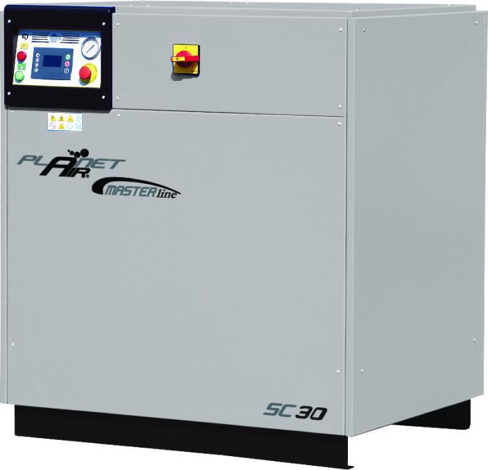 Compresseur à vis - 10 bar - de 4200 à 5000 l / min - 30-37 KW - MASTER LINE