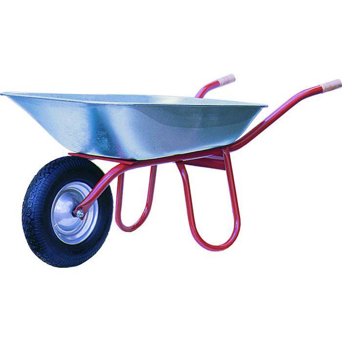 "Wheelbarrow ""Praktica"" - 85 l to 120 l - ball bearing - mounted"