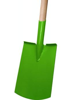 "Bêche femme ""Rohrdüll"" - poignée en T - peint en vert"