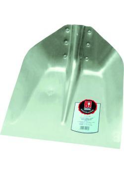 Kantskyffel - 380x380 mm - utan skyddskant - nitad - aluminium