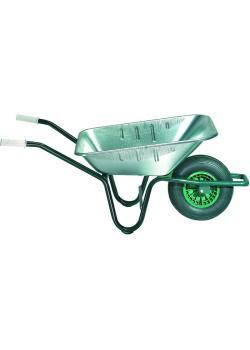 """Brouette universelle """"115/85"""" - 85 l - arceau de sécurité repliable - roulements à rouleaux remplis avec graisse"""