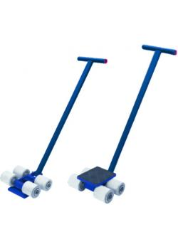 Chassis - heavy-duty transport roller - up to 3 tons - slip resistant