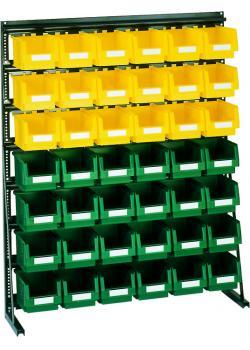 Vario Sichtkastenregal V10D - 42 PLK- Kästen - 1300 x 610 x 1240 mm