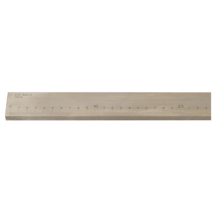 Präzisions-Arbeitsmaßstab - DIN 866/A - Stahl