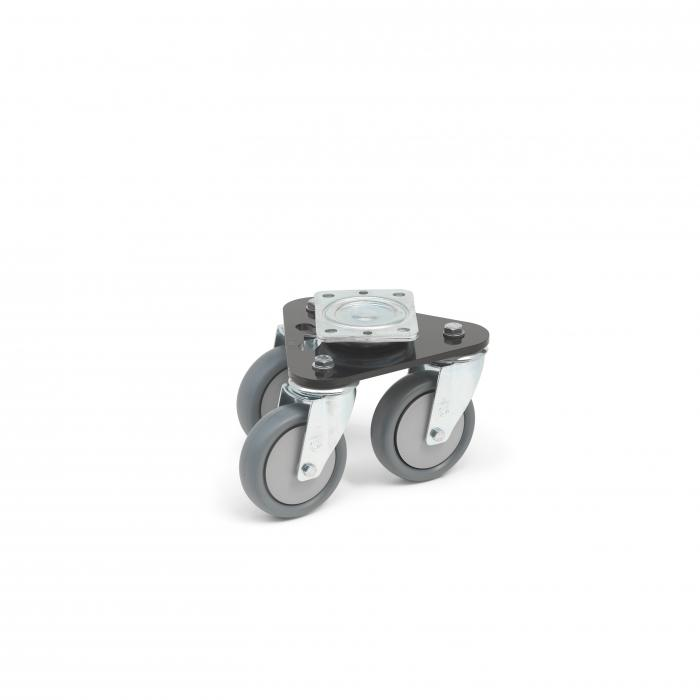 Triangle Roller - for stage equipment - up to 600 kg