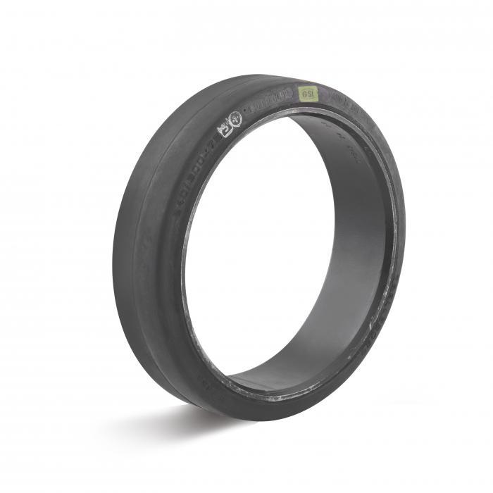 Reifen - Elastik-Vollgummi-Bandage - zylindrischer Sitz - Außen-Ø 125 bis 620 mm - Tragkraft 130 bis 3270 kg