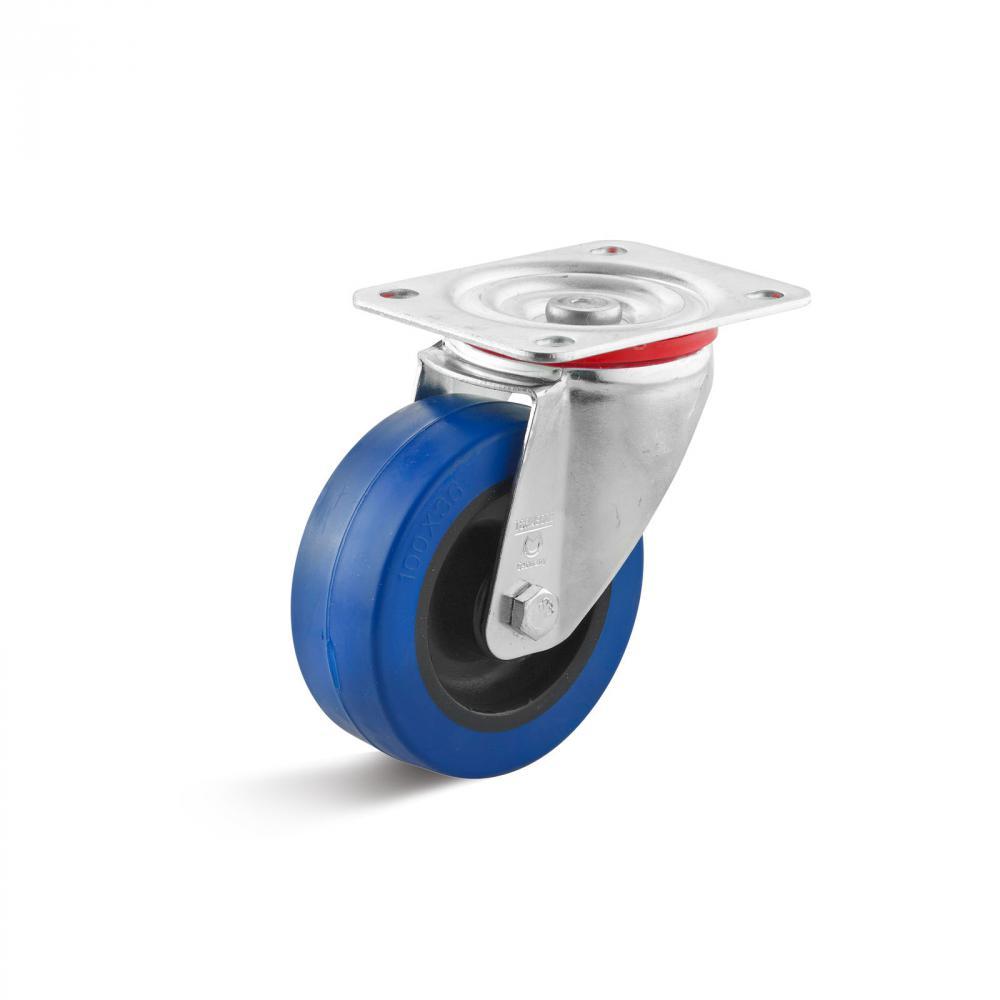 BS Rollen Ersatzrad 100mm 200kg Kunststoff 12mm 40mm
