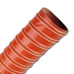 Abgasschlauch SIL 2 - Silikon - sehr flexibel - Innen-Ø 32 bis 305 mm - bis 2,8 bar - Länge - 4 m - Preis per Rolle