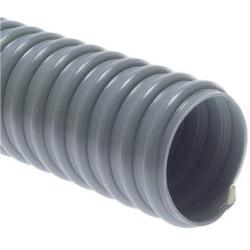 Leichter Saugschlauch- PVC Superflex - grau - Schlauch-Ø außen 40 mm - Länge 30 m - Preis per Rolle