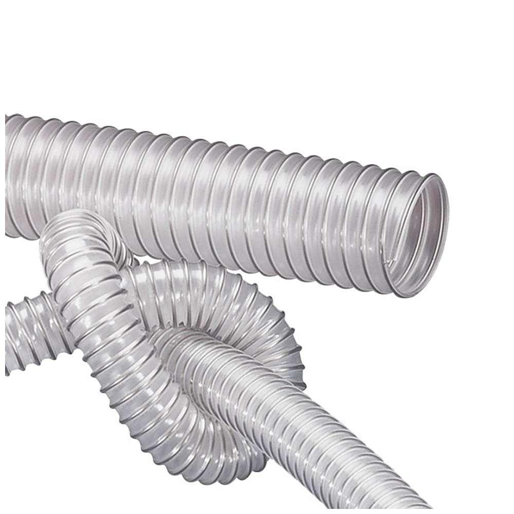 AIRDUC® PUR 350 AS - PU-Saug- und Förderschlauch - antistatisch - Innen-Ø 25 bis 500 mm - Außen- Ø 32 bis 507 mm - Preis per Rolle und Meter