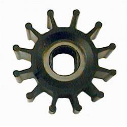 Ersättnings neoprenimpeller - för produktion av färskt eller saltvatten - Mått (Ø x B) 57 x 31,5 mm\n