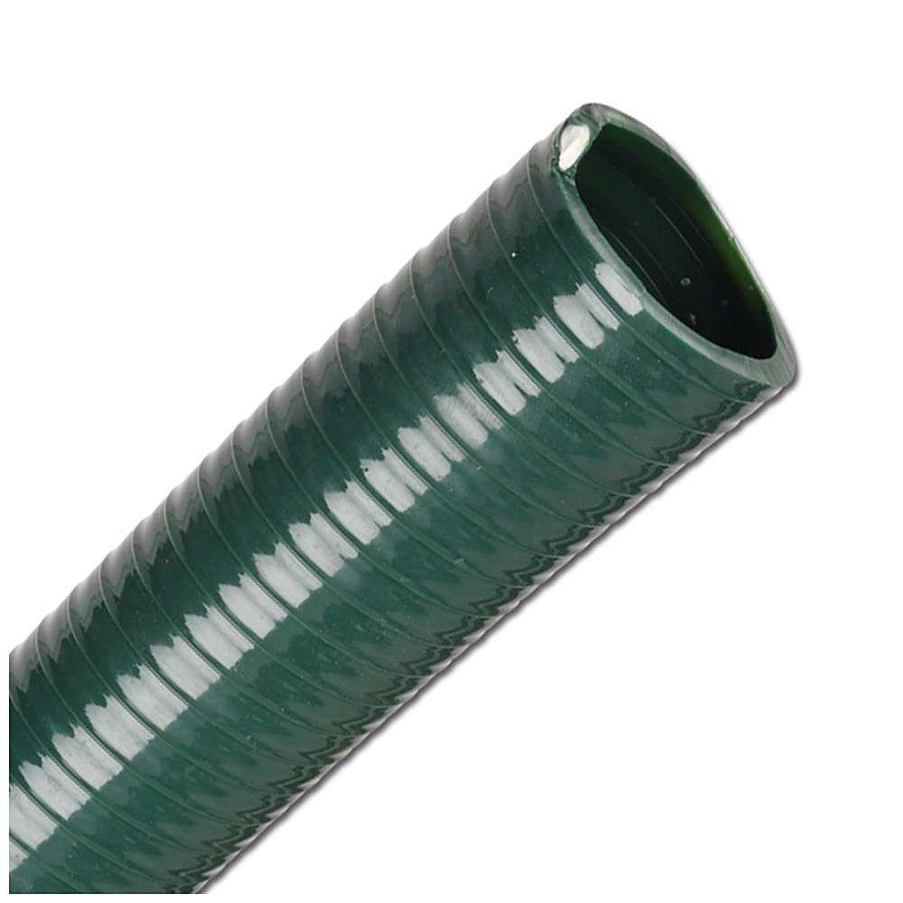 PVC-Saug- und Druckschlauch - Innen-Ø 25 bis 75 mm - Außen-Ø 33,4 bis 86,6 mm - Preis per Meter und Rolle