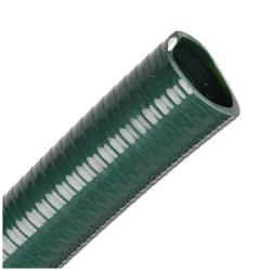 PVC suction hose granules - olive green inner Ø 25 - 75 mm