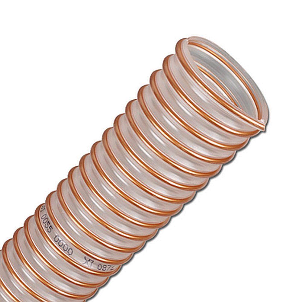 PUR sugslang - granulat - flexibel - inner-Ø 25 - 400 mm