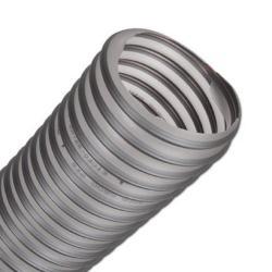 PUR - Saugschlauch - TIMBERDUC - schwerentflammbar DIN 4102-B1- Innen-Ø 40 bis 400 mm -  Unterdruck 0,015  bis 0,335 bar -  Preis per Meter und Rolle