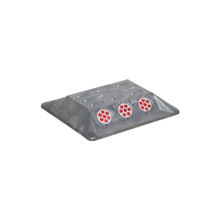 Alu-markeringsspikar - rektangulära - legerade