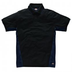 "Polo ""Two Tone"" - Dickies - NAVI / nero"