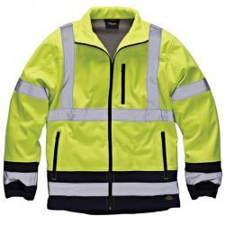 Visibilità giacca - Softshell - Dickies - giallo / blu - EN 471