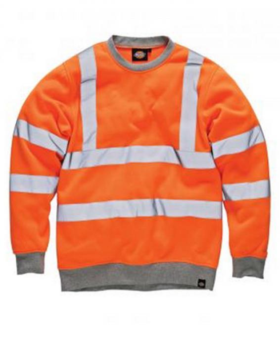 "Sikt vykort ""GO / RT"" - Dickies - orange - EN 471"