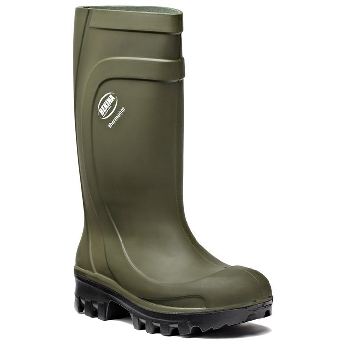 """Safety Boots S4 """"Thermo"""" - Dickies - grön"""