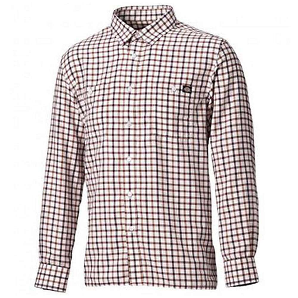 "Check Shirt ""Granger"" - Brun pläd - Dickies"