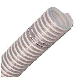 NORPLAST® PUR-C 386 AS - PU-Saug- und Förderschlauch - antistatisch - Innen-Ø 38 bis 100 mm - Außen- Ø 46 bis 110 mm - 30 m - Preis per Rolle
