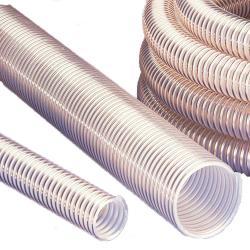 PUR sugslang - granulat - flexibel - inner-Ø 32 - 150 mm