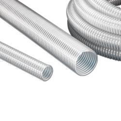 PUR sugslang - granulat - flexibel - inner-Ø 40 - 150 mm