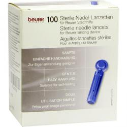 Beurer lansett för blodprovstagaren - 100 stycken