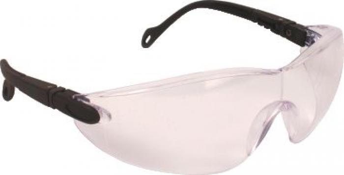 """Einscheibenbrille """"Eclipse"""" - klar/ getönt - schwarz - JSP®"""