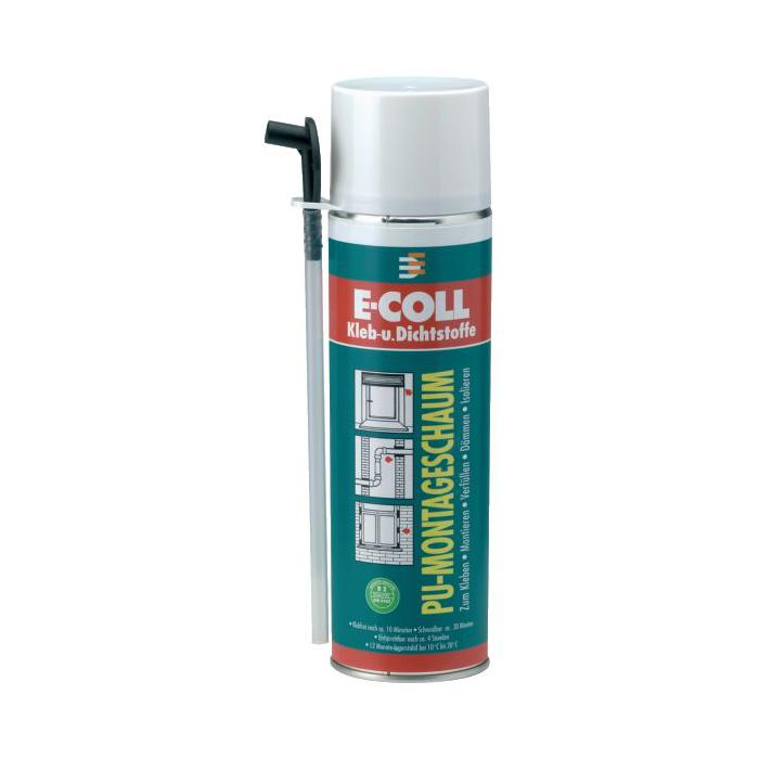 PU-Montageschaum - 500ml - (MDI-haltig) - E-COLL