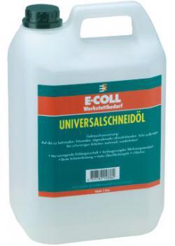 Uniwersalny olej do cięcia / olej cięcia sprayu 0,1 l / 0,5 l / 5 l / 10 l - E-COLL