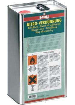 Nitro Thinner 1 l / 3l l / 6 l / 12 l / 30 l - E-COLL