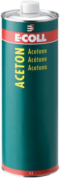 Aceton - 1 Liter/ 30 Liter - E-COLL