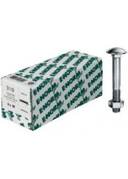 Sechskantschraube - DIN 601 (ähnlich) - verzinkt - 200 Stück - E-NORMpro