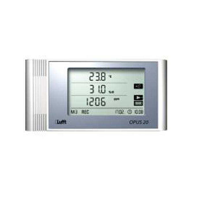 "LAN data logger ""Opus20 THI"" - measuring temperature / humidity / CO²"