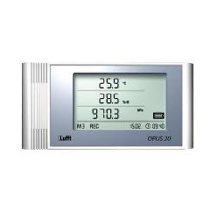 "LAN data logger ""Opus20 THIP"" - measuring temperature / rel. Humidity / pressure - plastic housing"