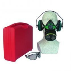 Atemschutz-Set PROFEX - DIN EN 140 - DIN EN 14387 - DIN EN 166