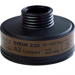 """Gasfilter """"DIRIN 230 A2 compact"""" - DIN EN 14387"""