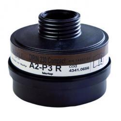 "Multi-purpose filter ""DIRIN 230 A2-P3R D kompakt"" - DIN EN 14387"